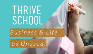 Thrive School opening graphic