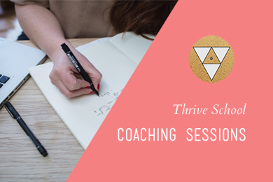 coaching session thrive school