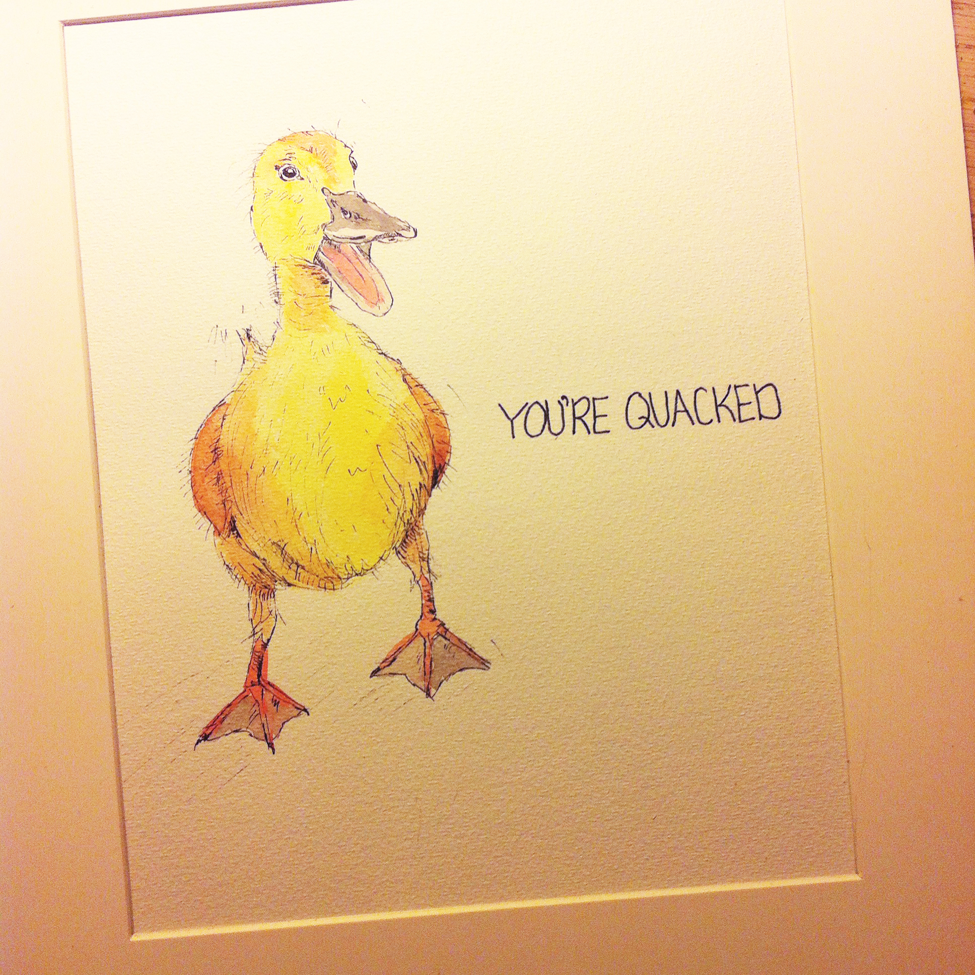 your quacked